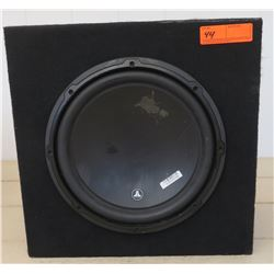 "Car Audio - JL Audio 12"" Speaker with Approx 16.75"" Box"