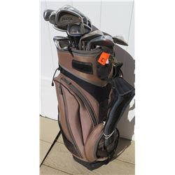Sporting Goods - Golf Clubs and Bag: Tommy Armour, Wilson, Lynx