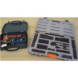 Tools - Husky Ratchet Set with extra Sockets and Headlamp