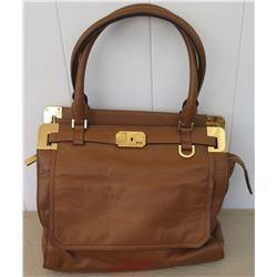 Micheal Kors Brown Leather Handbag
