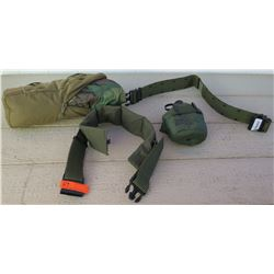 Sporting Goods - Nemo Camo Tent, Military Issue Canteen with Belt