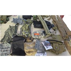 Military Issue Pouches, Camel Pak Accesories