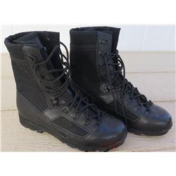 Mens Black Lowa Boots size 11