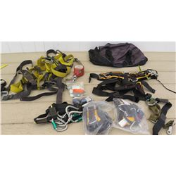 PMI Safety Harness, Straps, Caribeaners