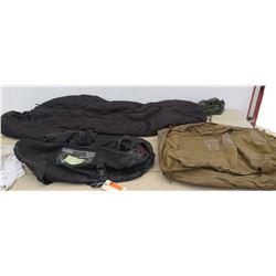 Tennier Modular Sleeping Bag, Yates Duffel, Military Duffel