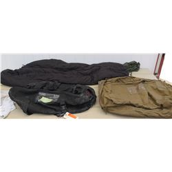 Tennier Modular Sleeping Bag, Yates Duffel, Military Duffel