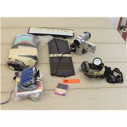 Electronics - DXG and Sony Camcorders, Pink MP3 Player, Headlamps, CDS