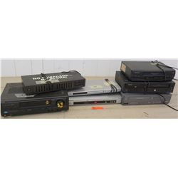 Electronics - JVC and Panasonic DVD Players; 4 VCR Players, Stereo Graphic Equalizer