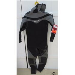 Wetsuit - Mens Pinnacle size L Polar 7/5mm Semi Dry Wetsuit (appears unused w/ tags)