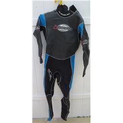 Wetsuit - Mens Quiksilver Stormproof Wet Suit size M