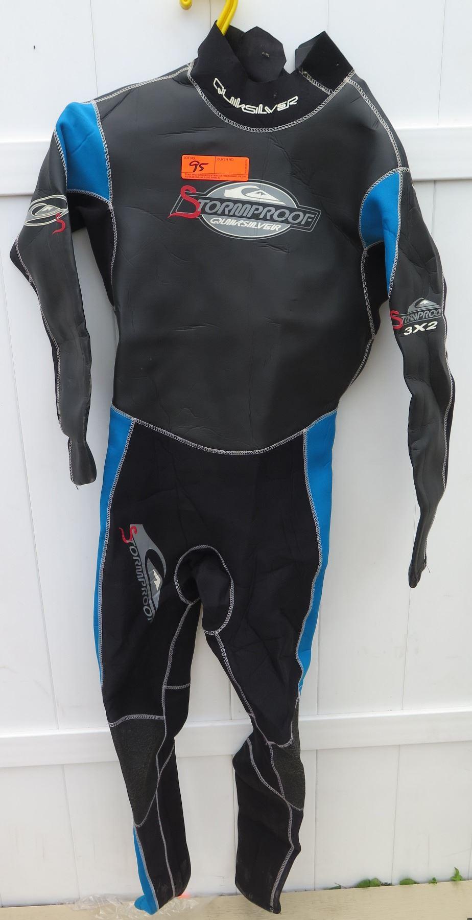 1660e22ae3 ... Image 2   Wetsuit - Mens Quiksilver Stormproof Wet Suit size M ...