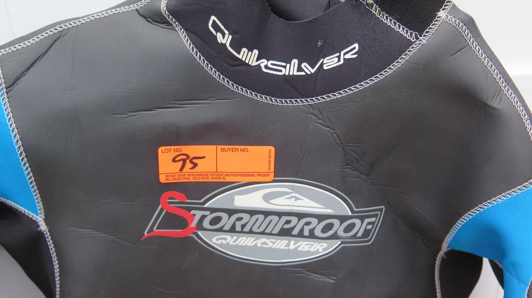2f49ba0670 ... Image 3   Wetsuit - Mens Quiksilver Stormproof Wet Suit size M ...