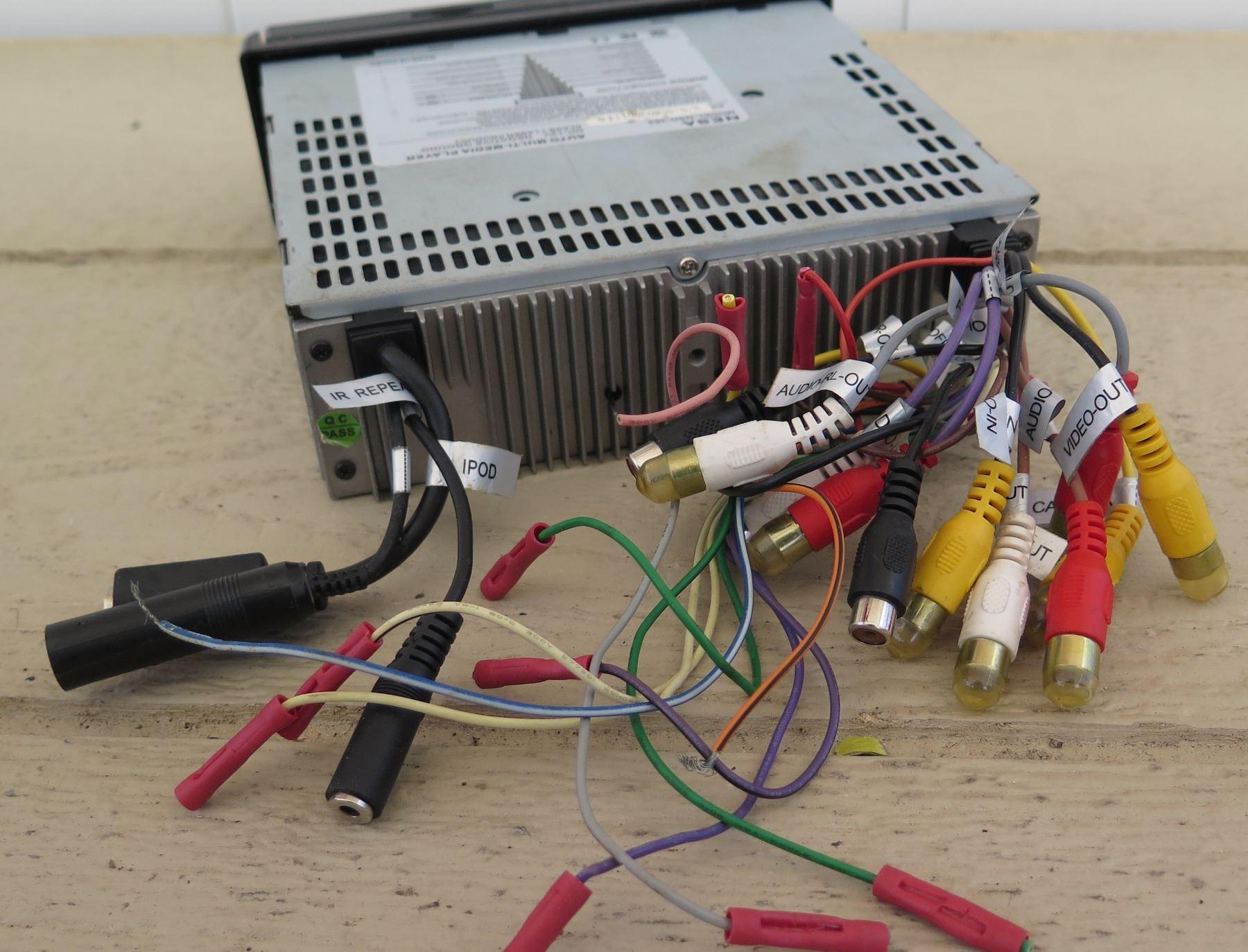 car audio kenwood dvd car deck, nesa multi media car deck 4 channel amp wiring diagram vr3 vra2 0 200 watts peak 2 channel car
