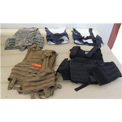 Military Vests (5 pcs)