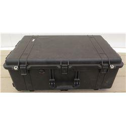 Large Rolling Hard Suitcase