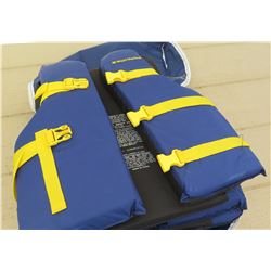 West Marine Life Vests, Approx 4