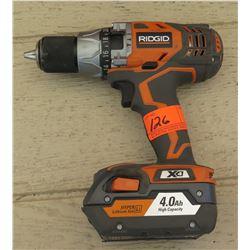 Tools - Ridgid R8611501 Cordless Drill w/ 18V Battery