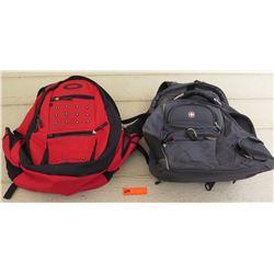 Backpacks - Red Oakley & Black Swiss Gear