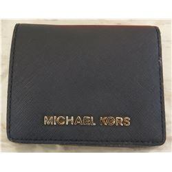 Michael Kors Black Bi-Fold Wallet