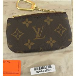 Louis Vuitton Zippered Coin Purse