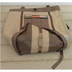 Yates Water Resistant Tan/Brown Backpack/Bag