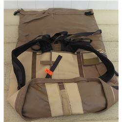 Yates Tan/Brown Backpack/Bag, Water Resistant