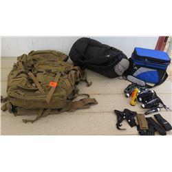 Misc Gear - Black Hawk Backpack, Slumberjack Sleeping Bag, etc.