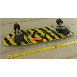 Mystery Destroyer Skateboard - Yellow Deck, Black Wheels