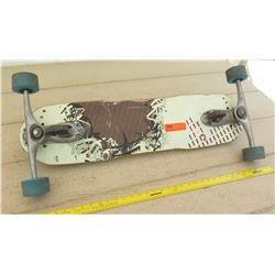 Freeboard Downhill Skateboard w/ 3-Wheel Trucks