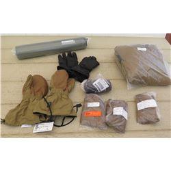 Military Gear - Gortex Gloves, Outdoor Research Gloves, Sleeping Mat, etc.