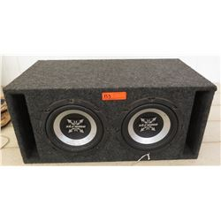 Car Audio - Subwoofer w/ 2 Xtreme Speakers