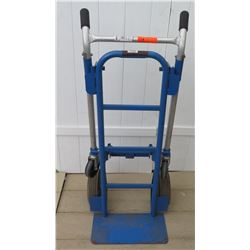 Blue Hand Truck - Convertible (tires need to be inflated)
