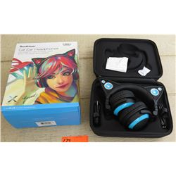 Brookstone Cat Ear Head Phones