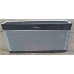 Bose Soundlink Bluetooth Speaker III (no accessories)