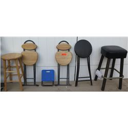 Misc. Bar Stools and Folding Stools