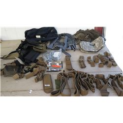 Misc. Military Gear - Straps, Net, etc.