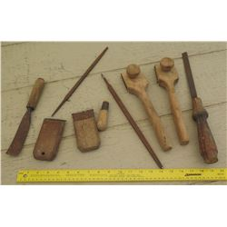 Tools - Vintage Wooden Hand Tools