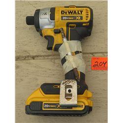 Tools - Dewalt DCF886 Cordless Impact Driver 20V, w/Battery