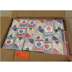 Bicyle Brand Playing Cards - Approx. 170 Decks), Red/Blue