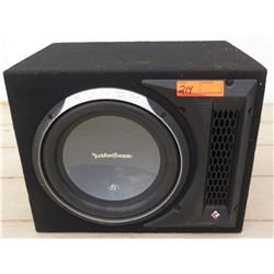 Car Audio - Rockford Fosgate Punch P2 Subwoofer