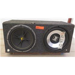 Car Audio - Subwoofer w/ Kicker & Dual Speaker