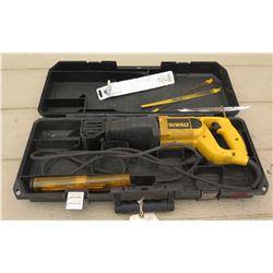 Dewalt DW304P Reciprocating Saw w/Case