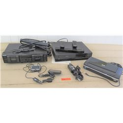 Electronics - HP Portable Printer, Sony Dual Tape Deck, GPS, VCR, etc.