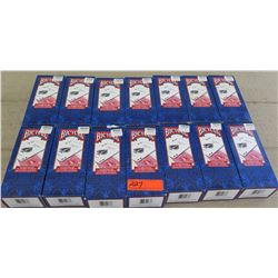 Bicyle Brand Playing Cards - 14 Boxes (each box has 12 decks), Half Red/Half Blue