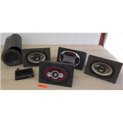 Car Audio - Speakers and Bazooka Subwoofer