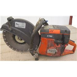 Tools - Husqvarna K760 Concrete Cutoff Saw (gas powered)