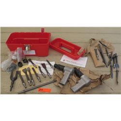 Tools - Superior Pneumatic Air Hammer Chisel Set