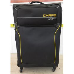 Chaps Sport Rolling Suitcase w/ Tag