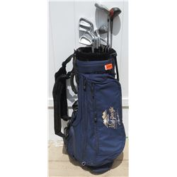 Golf Clubs with Mid Pacific Bag