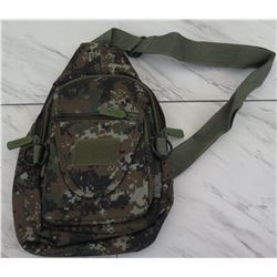 East West Camo Pattern Backpack